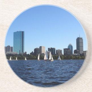 Beauty of Boston Keychain Sandstone Coaster