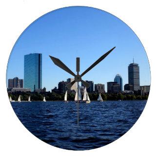 Beauty of Boston Wall Clock