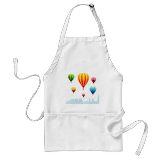 Beauty of Color Balloons Adult Apron