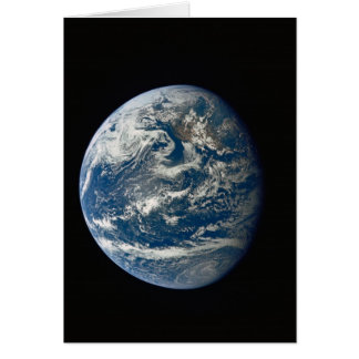Beauty of Earth from Space Card