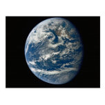 Beauty of Earth from Space Postcard