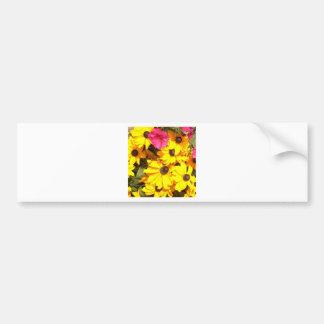 Beauty of Flowers Bumper Sticker