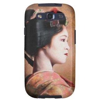 Beauty of Geisha - cool oriental japanese painting