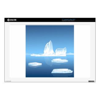 """Beauty of Iceberg Skins For 17"""" Laptops"""