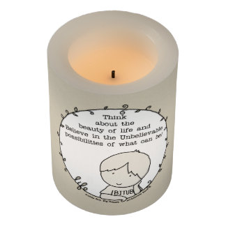 Beauty of Life Flameless Candle