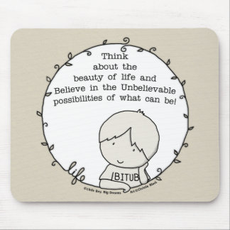 Beauty of Life Mouse Pad