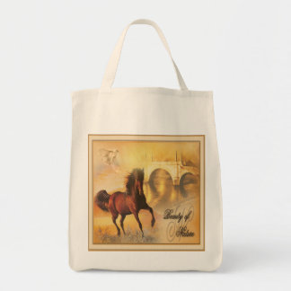 Beauty Of Nature - Organic Grocery Tote