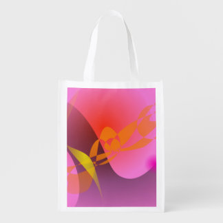 Beauty of Nature Reusable Grocery Bags