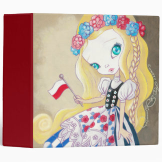 Beauty Of Poland 3 Ring Binder