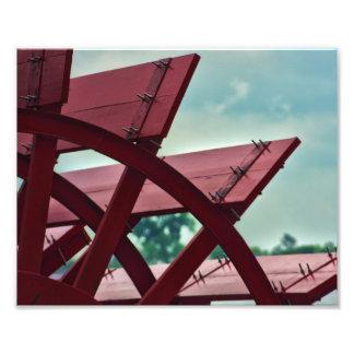 """Beauty of Propulsion""- Paddle Wheel Print Photo Print"