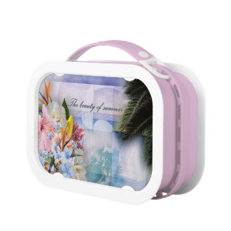 Beauty of Summer Flowers Yubo Lunchboxes