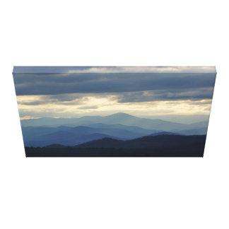 Beauty of the Blue Ridge Canvas Print