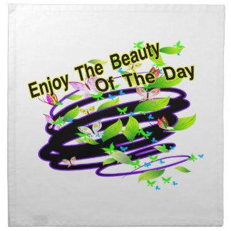 Beauty Of The Day Butterflies Napkin