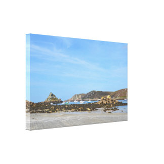 Beauty Of The Isles Of Scilly Canvas Print