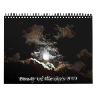 Beauty of the skies calendar