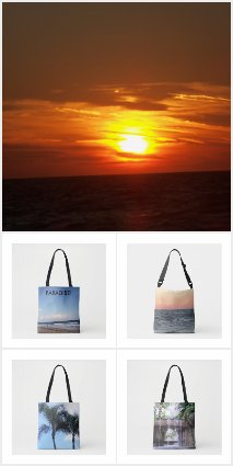 Beauty of the Tropics Totes