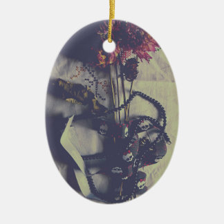 Beauty off Death Ceramic Ornament