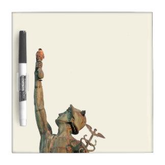 Beauty on Mercury Small dry-erase board w/ Pen