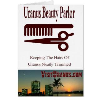 Beauty Parlor Card