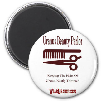 Beauty Parlor 2 Inch Round Magnet