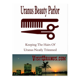 Beauty Parlor Postcard