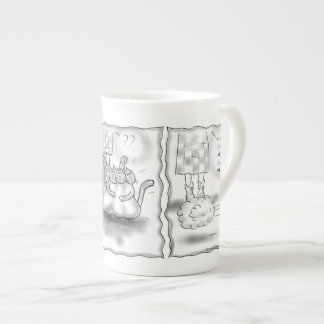 Beauty Parlor Porcelain Mugs