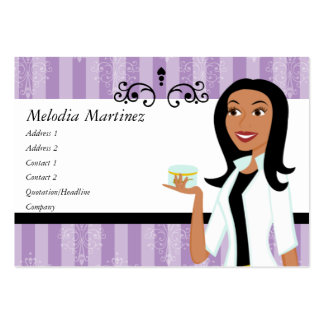 Beauty Perfection Large Business Card