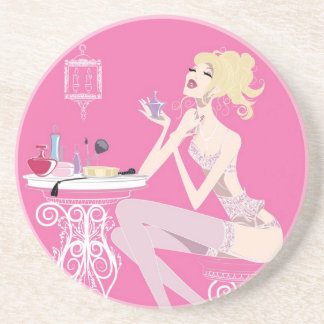 Beauty Pink Coaster