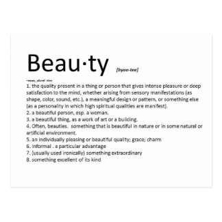 Beauty Postcard