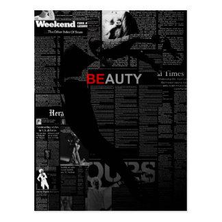 Beauty Postcard