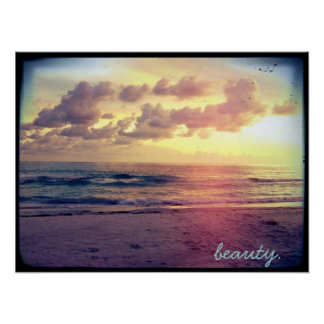 beauty. poster