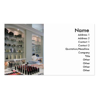Beauty Products Business card