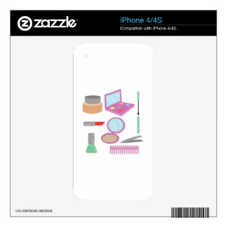 Beauty Products iPhone 4S Decals