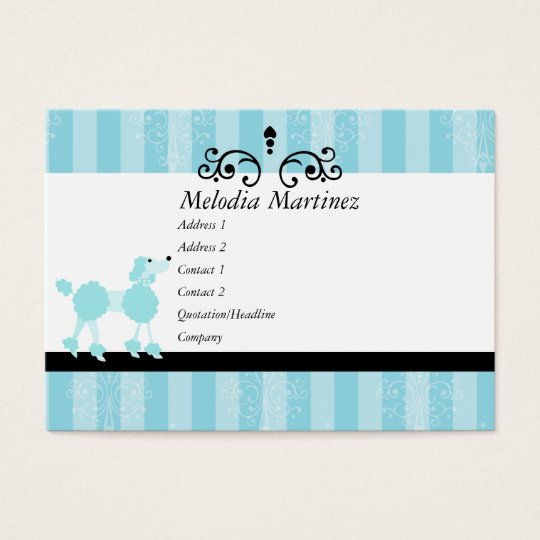Beauty Puppy Business Card