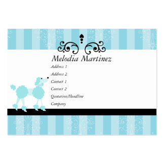 Beauty Puppy Large Business Card