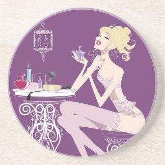 Beauty Purple Coaster
