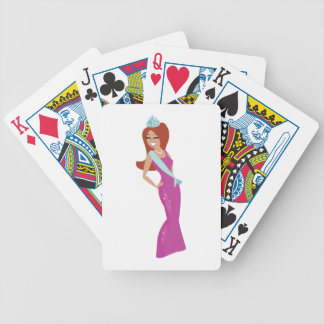 Beauty Queen Bicycle Playing Cards
