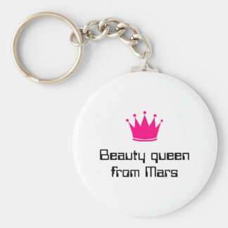 Beauty queen from Mars Keychain