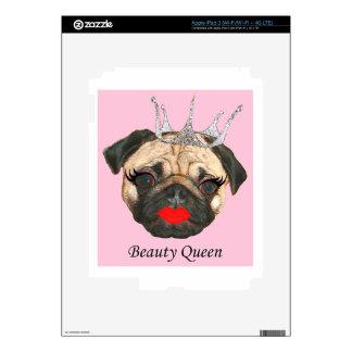 Beauty Queen iPad 3 Decal