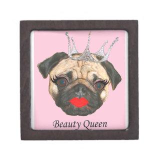 Beauty Queen Jewelry Box