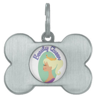Beauty Queen Pet ID Tag