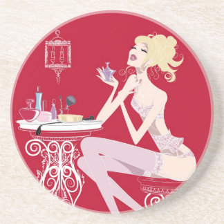 Beauty Red Coaster