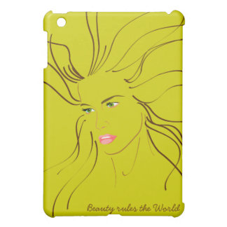 Beauty rules the World iPad Mini Cover