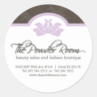Beauty Salon Address Labels