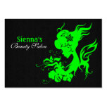 Beauty Salon Appointment Card (Lime) Business Card