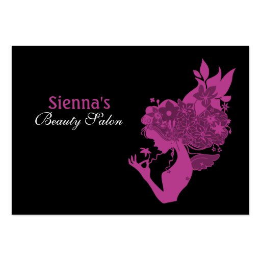 Beauty Salon Appointment Card Plum Business Cards