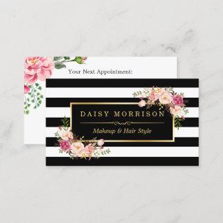 Beauty Salon Appointment Gorgeous Floral Decor