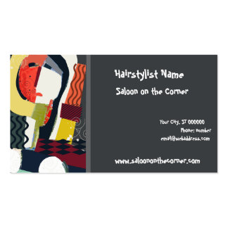 Beauty Salon Double-Sided Standard Business Cards (Pack Of 100)