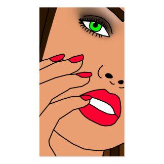 Beauty Salon Business Cards