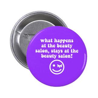Beauty salon button